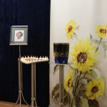 Rollup Display Sonnenblumen